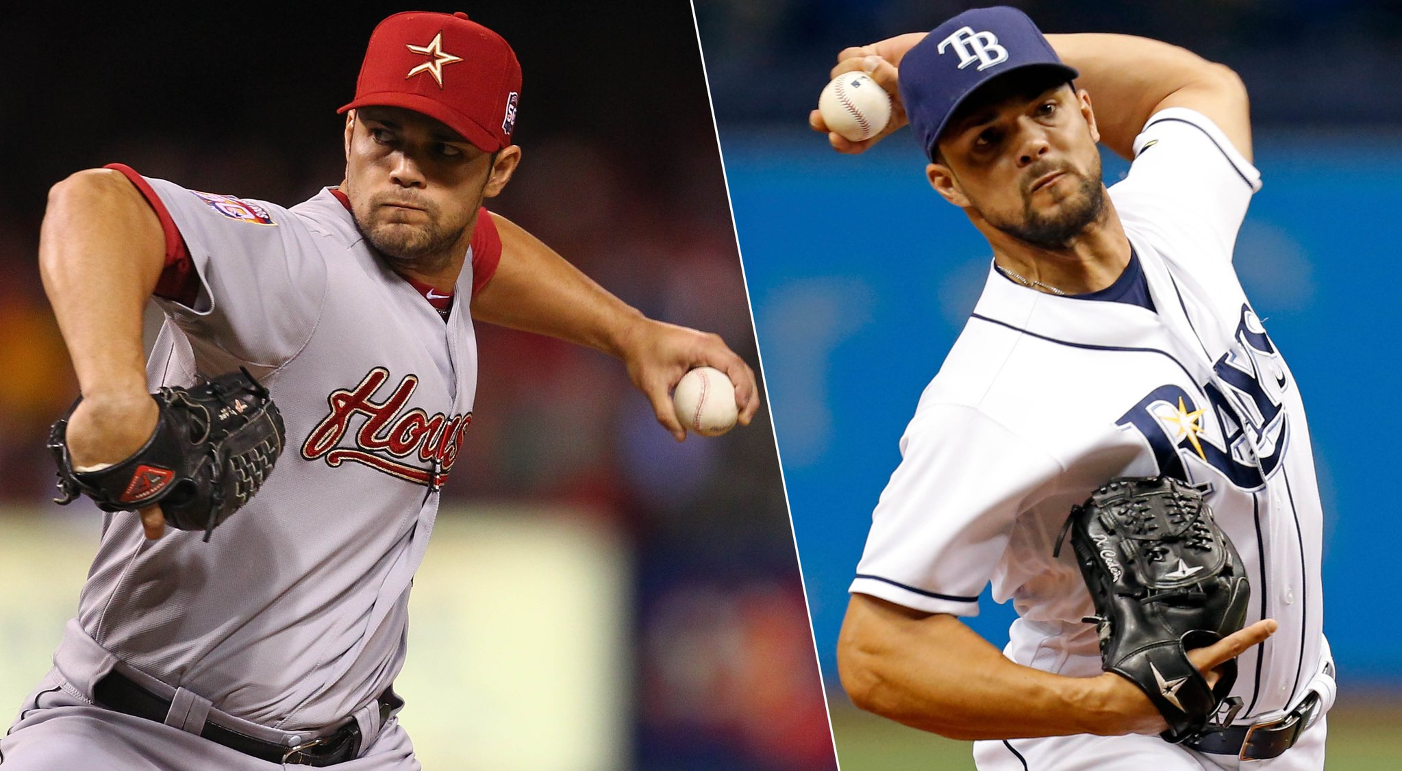 Xavier Cedeño (photographed) made his big league debut with the Houston Astros in 2011. (Photo Credit: Tampa Bay Rays)