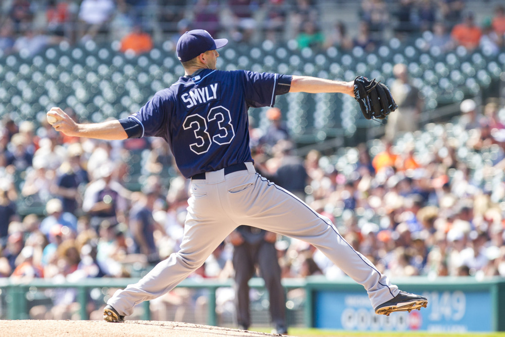 Drew Smyly projects to earn $6.9-million next season. (Photo Credit: Unknown)