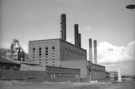 Marius St Power Station in 1956