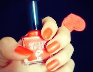 オレンジ色デザイン1