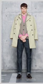 シャツ×セーター×ジャケット×トレンチコート×ジーンズ×靴 (全アイテムGU)