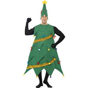 クリスマスツリーのコスプレ2