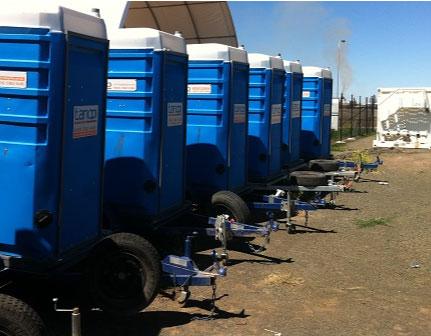 Toilet fleet