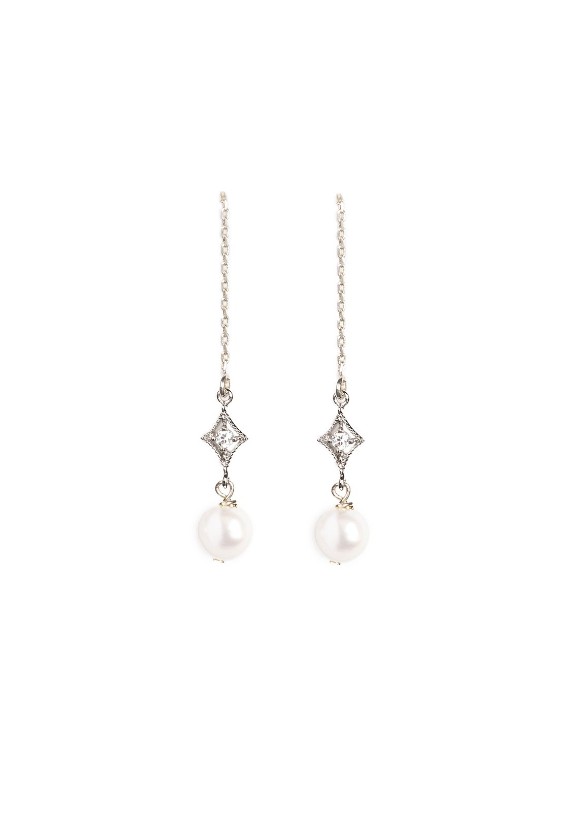 Where To Get Bridal Jewelry Nightingale Pearl Drop Bridal Earrings