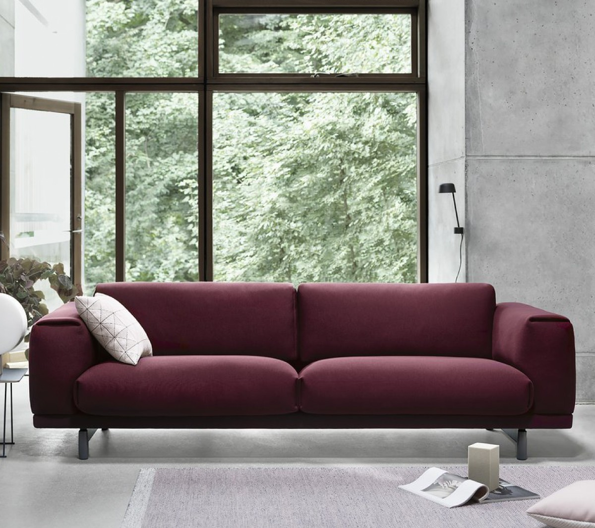 Muuto Oslo Sofa Rest Sofa By Muuto Luxury Interior Design Online Shop