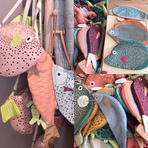 Fisch Taschen und Beutel von Don Fisher