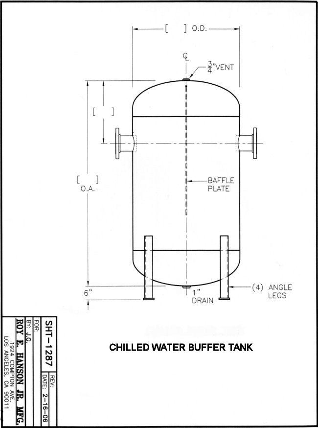 Chilled Water Storage Tank Design Ronniebrownlifesystems