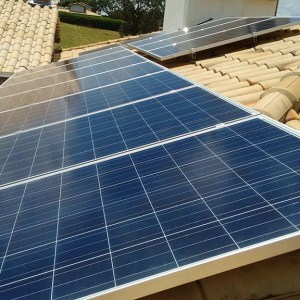 01 - Arranjo fotovoltaico - 10 x 310Wp Trina Solar