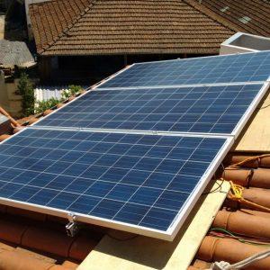 02 - Instalação dos módulos fotovoltaicos - 6 x 310Wp Trina Solar