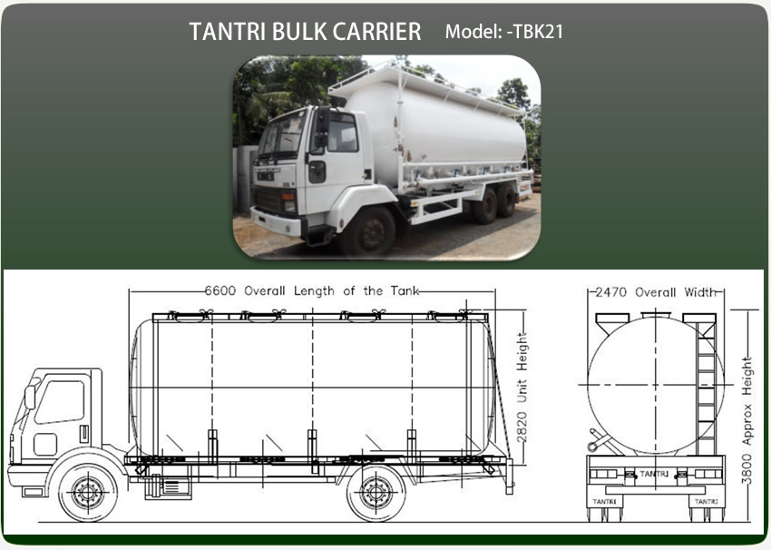 Car Carrier Height Cement Bulk Trailers Tantri