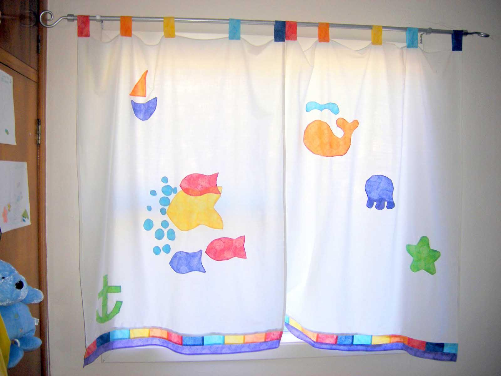 Cute Window Treatment Kids Bedroom Curtains Custom Home