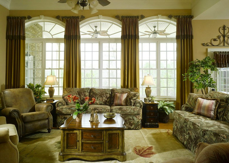 Elegant Large Windows In Living Room #1665 Gallery (Photo