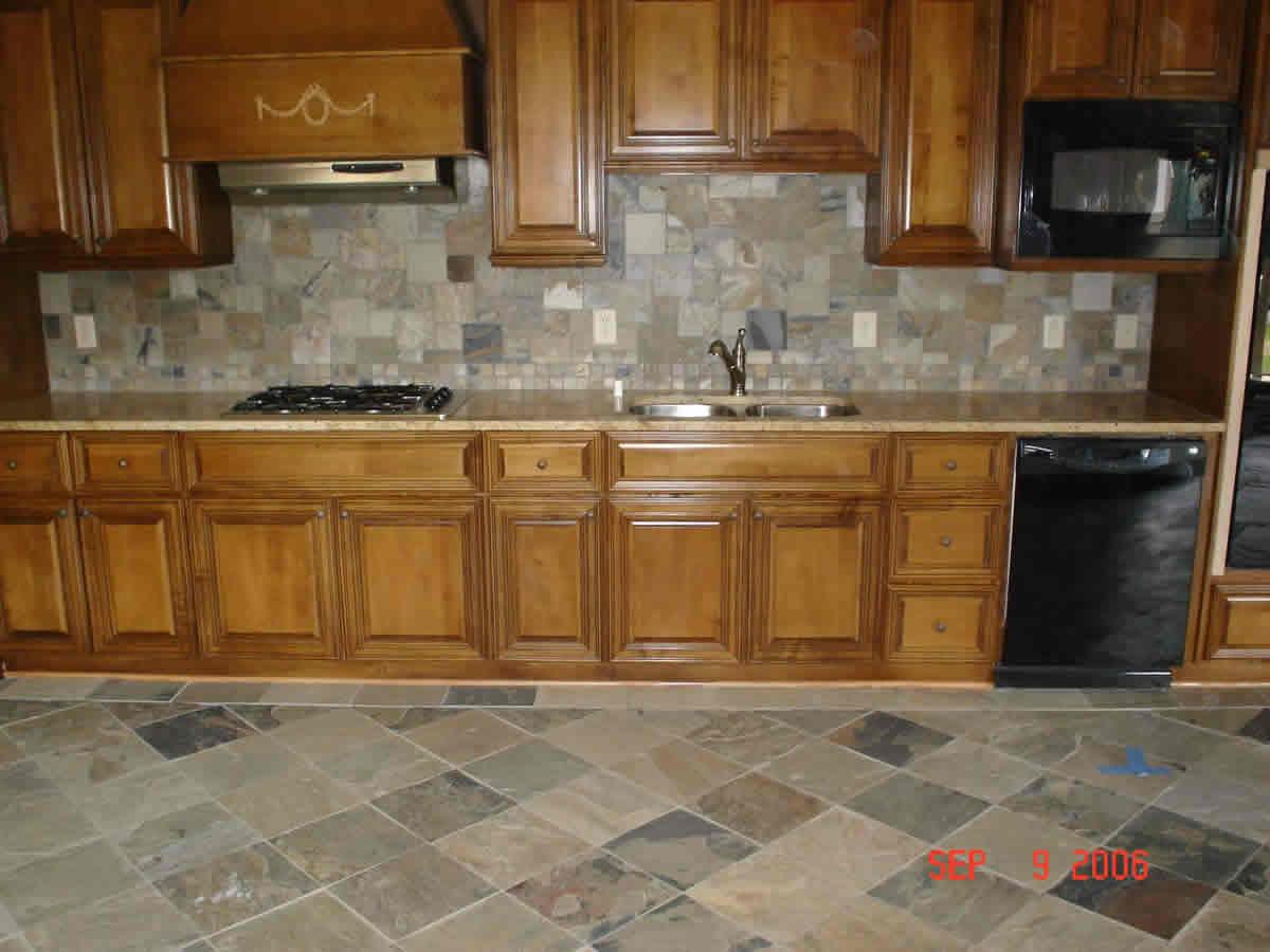 brown glass tile designs for backsplash tile kitchen countertops Slate Kitchen Tile Backsplash Atlanta Image 9 of 10