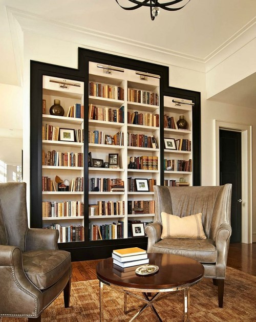 Medium Of Home Library Chairs