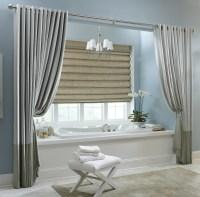 15 Beauty Bathroom Shower Curtain Ideas | Custom Home Design