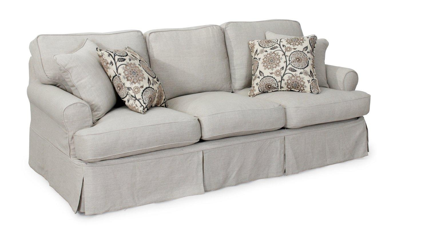 Big Cushion Sofa 20 Best Collection Of T Cushion Slipcovers For Large Sofas