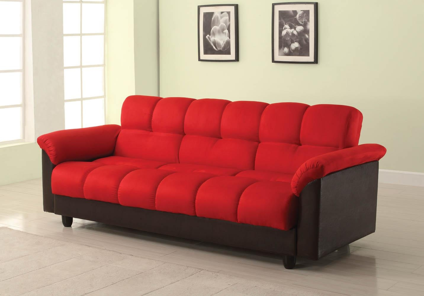 Red Furniture Ideas 20 Photos Sofa Red And Black Sofa Ideas