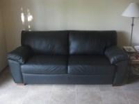20 Photos Black Leather Sofas and Loveseats | Sofa Ideas