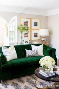 Dark Green Sofa Dark Green Couch Living Room Livegoody