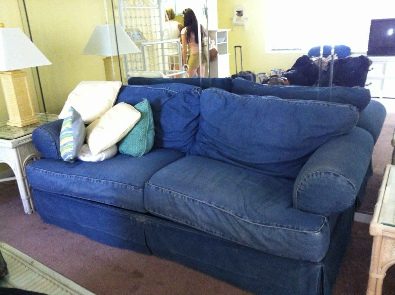 Denim Sofa Denim Slipcovers For Sofas Cool Navy Couch Cover Epic 39