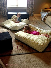 How To Decorate Room With Floor Pillow | Custom Home Design