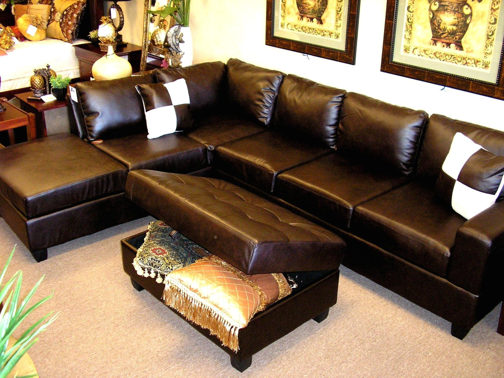 Sofa Via 20 Top Sectional Sofa With Large Ottoman Sofa Ideas