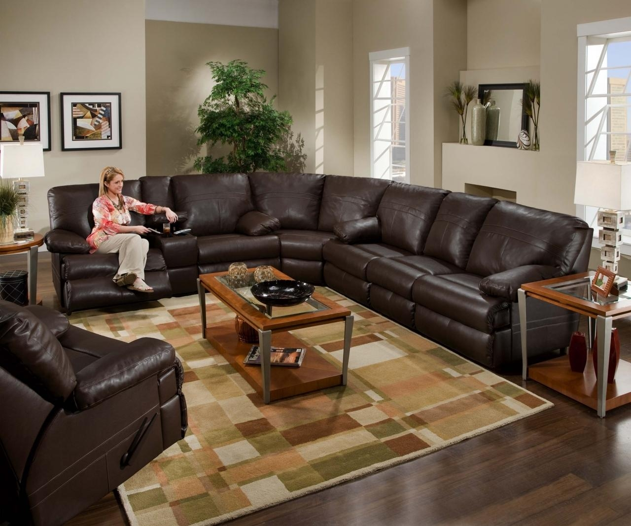 Big Sofa In A Small Room 20 Best Ideas Large Leather Sectional Sofa Ideas