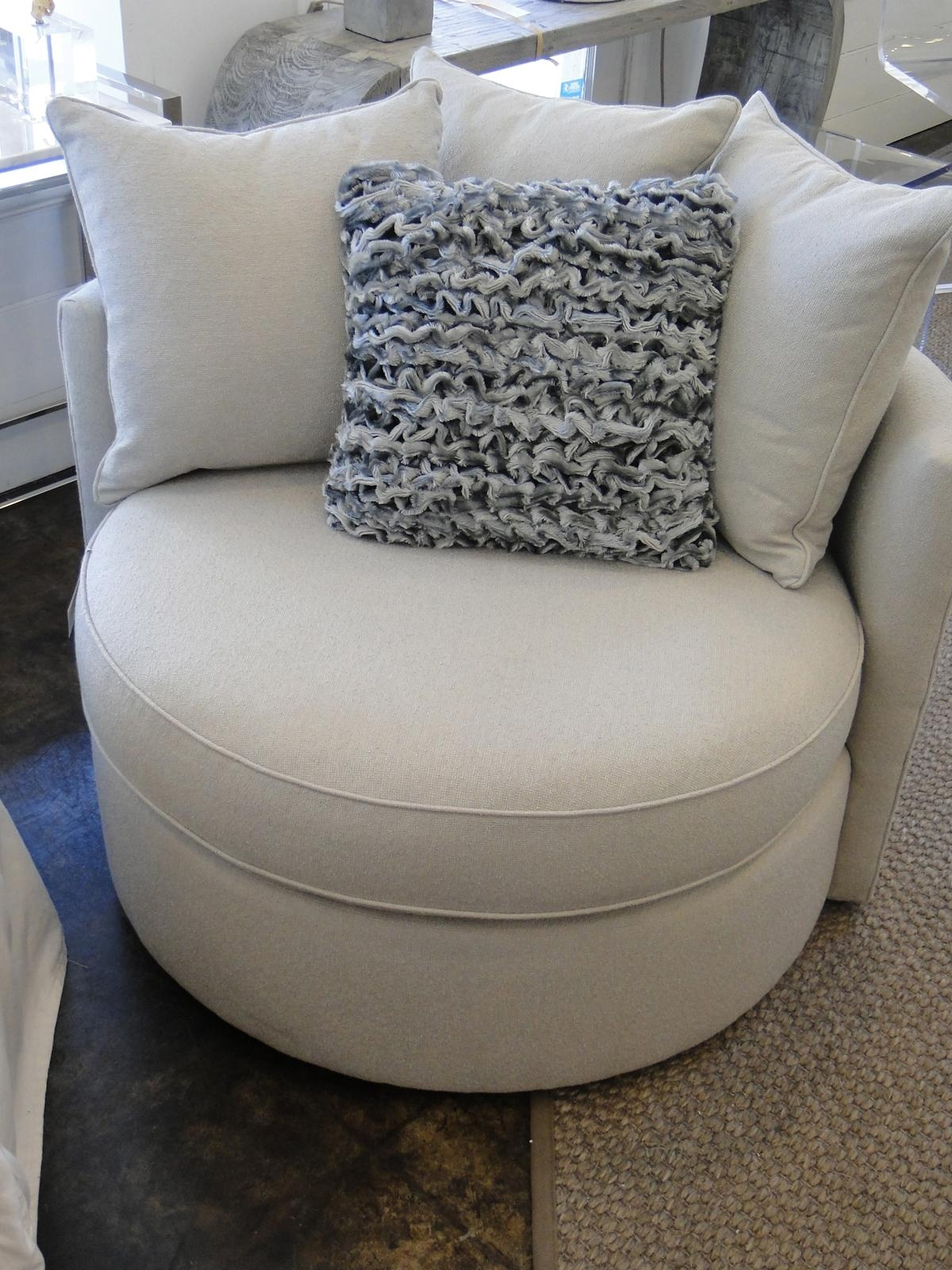 Round Sofa Chair 20 Inspirations Round Swivel Sofa Chairs Sofa Ideas