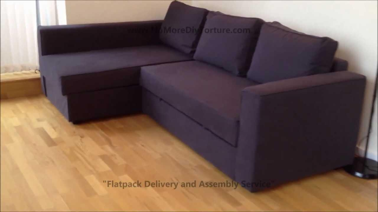 Ikea Sofa Assembly 20 Top Manstad Sofa Bed With Storage From Ikea Sofa Ideas