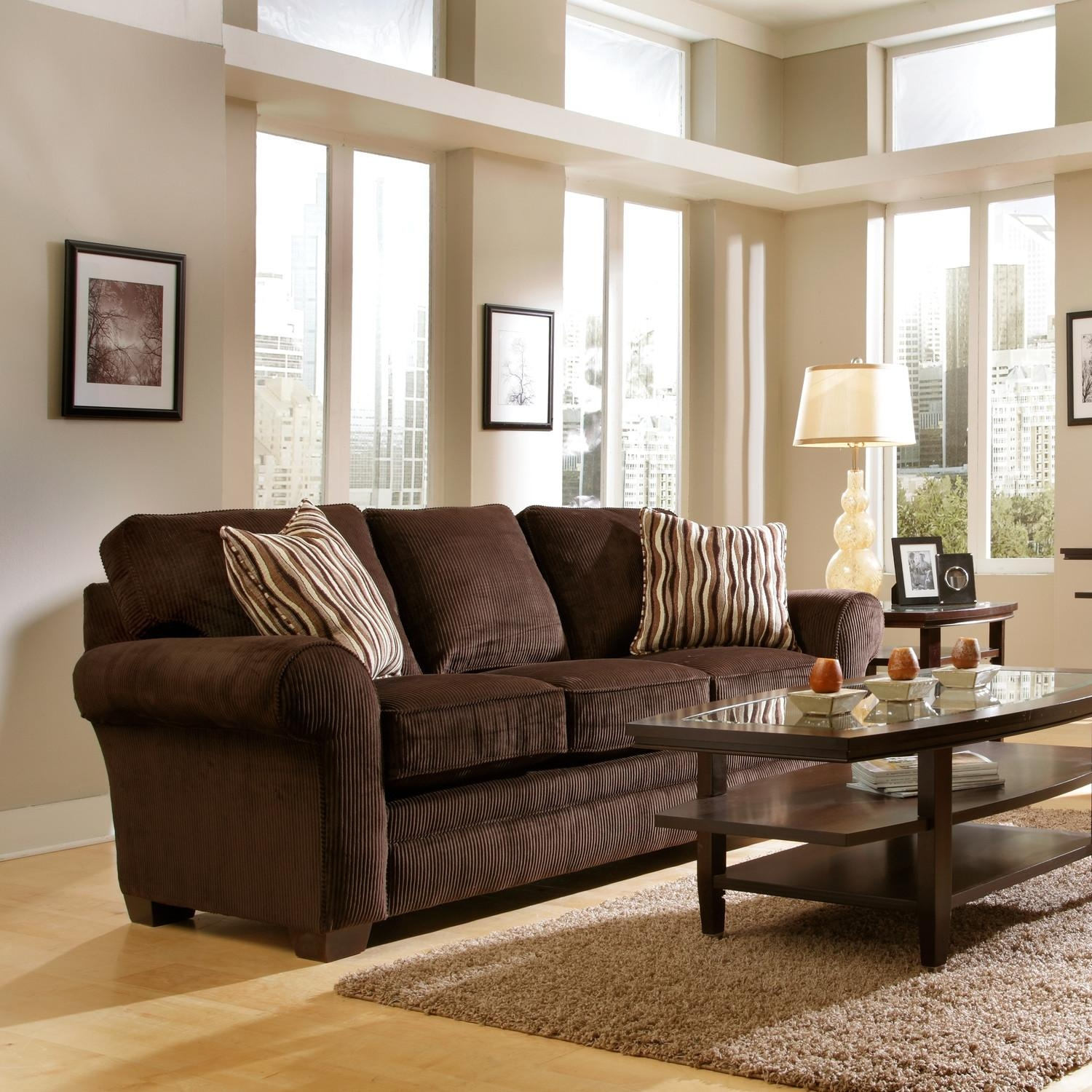 Chocolate Brown Couch Decorating Ideas 20 43 Choices Of Brown Sofa Decors Sofa Ideas