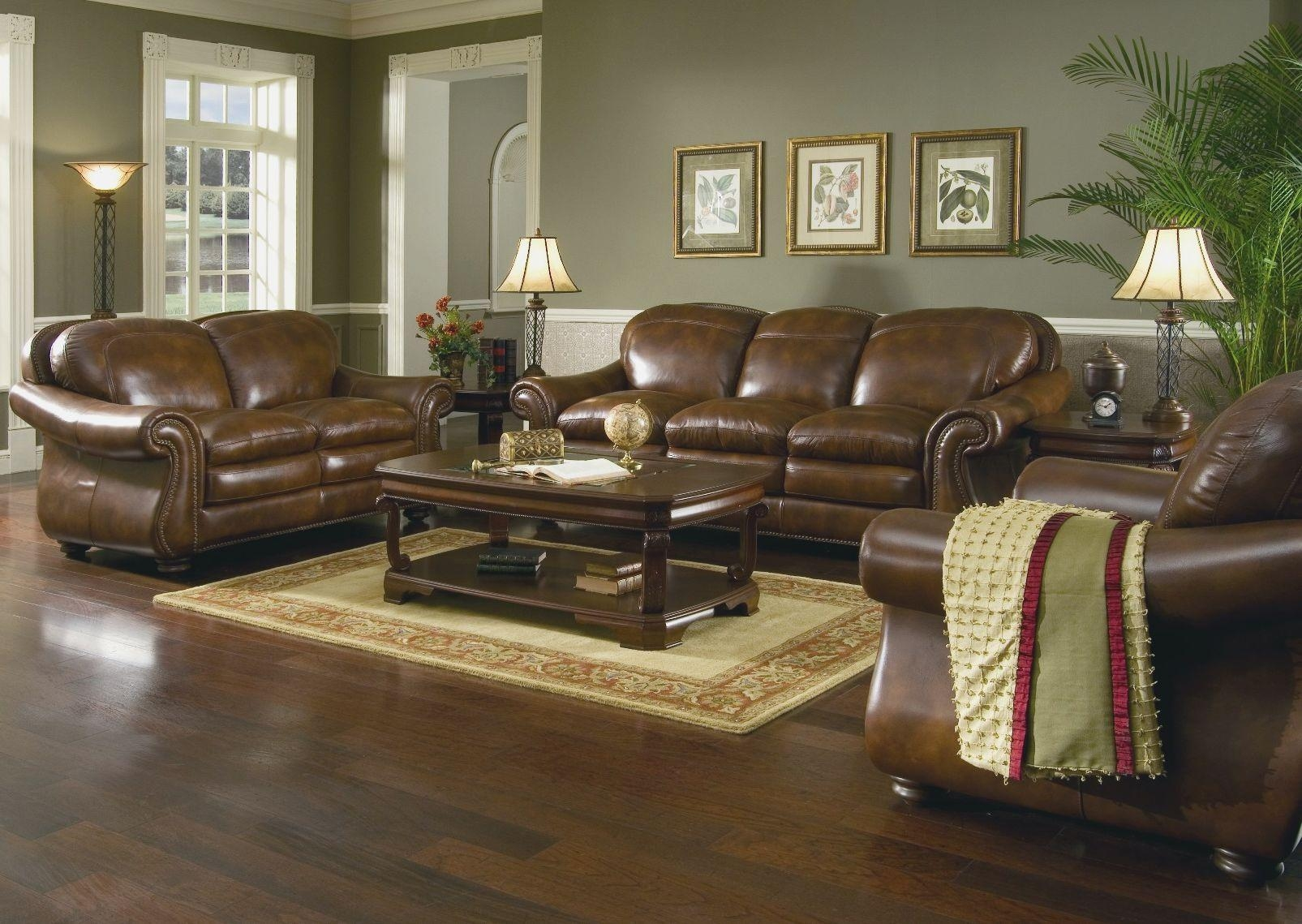 Chocolate Brown Couch Decorating Ideas 20 Inspirations Living Room With Brown Sofas Sofa Ideas