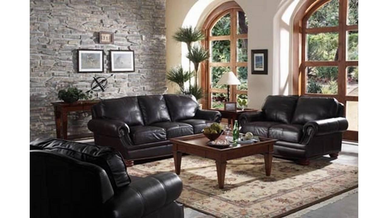 20 Ideas of Black Sofas for Living Room