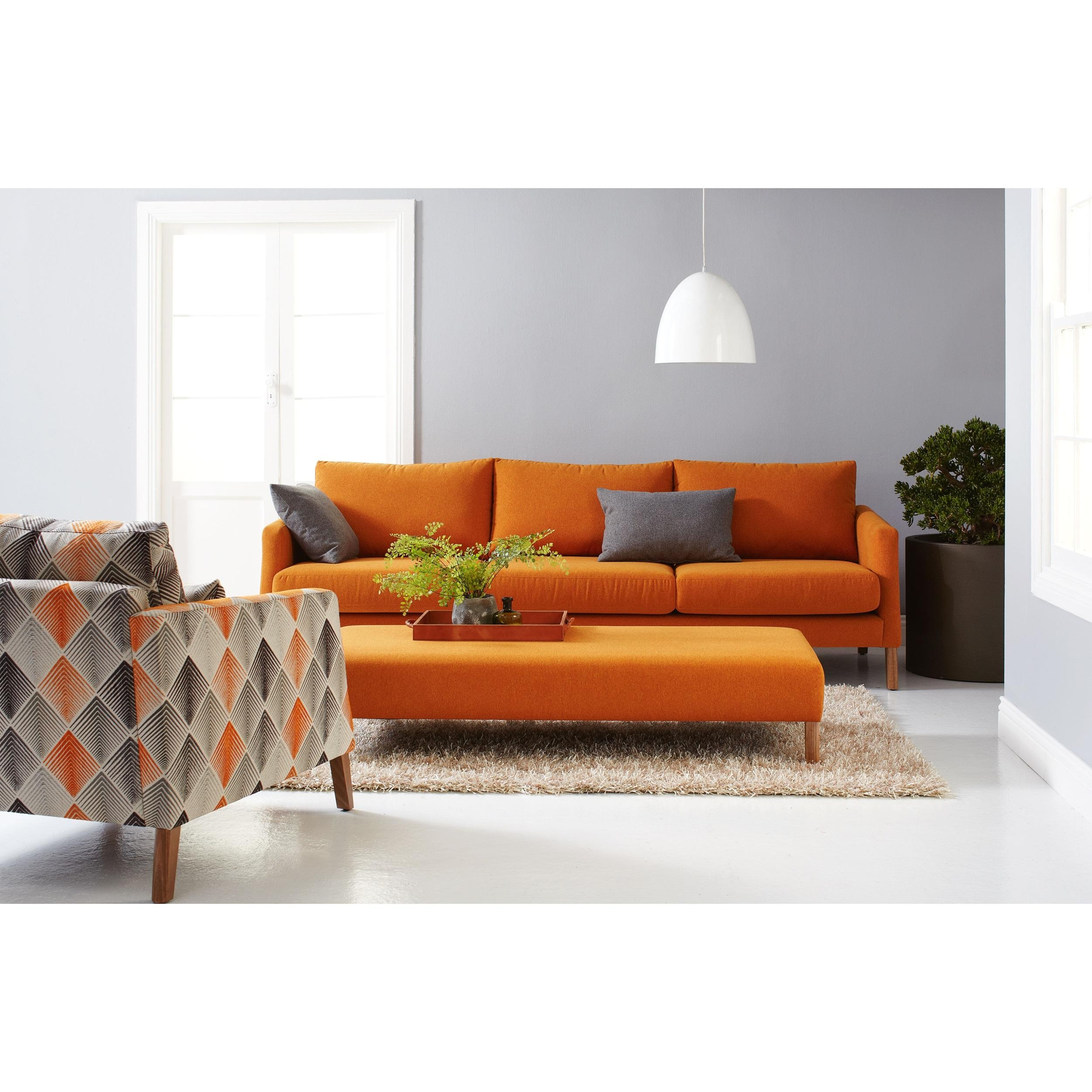Sofa Orange 20 Best Orange Modern Sofas Sofa Ideas