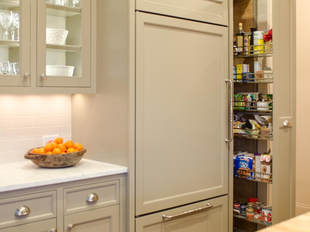 Custom Kitchen Pantry Cabinet Pantry Cabinets To Utilize Your Kitchen Custom Home Design