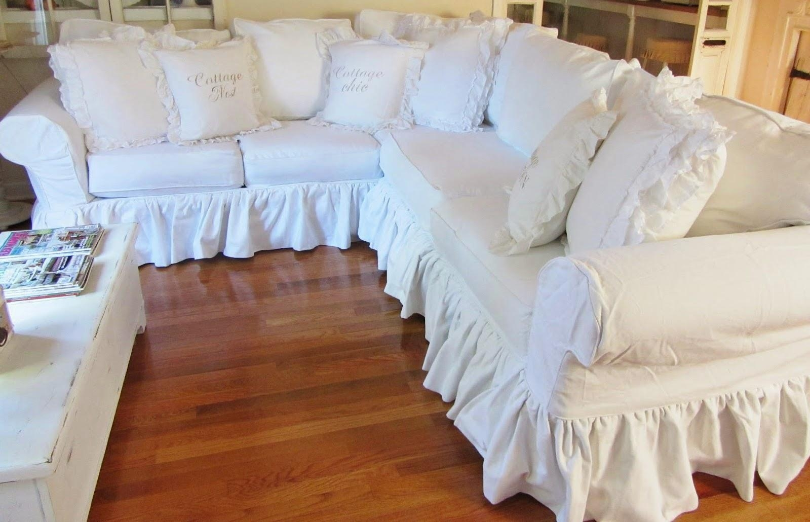 Couch Shabby Chic 20 Photos Shabby Chic Sofas Covers Sofa Ideas