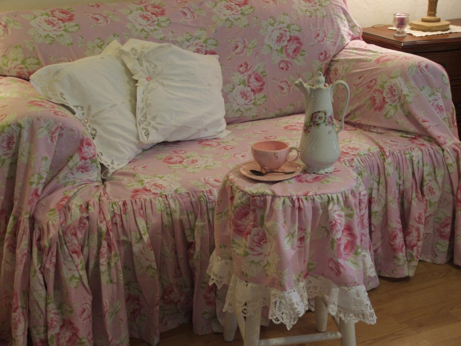 Sofa Shabby Chic 20 Top Shabby Slipcovers Sofa Ideas