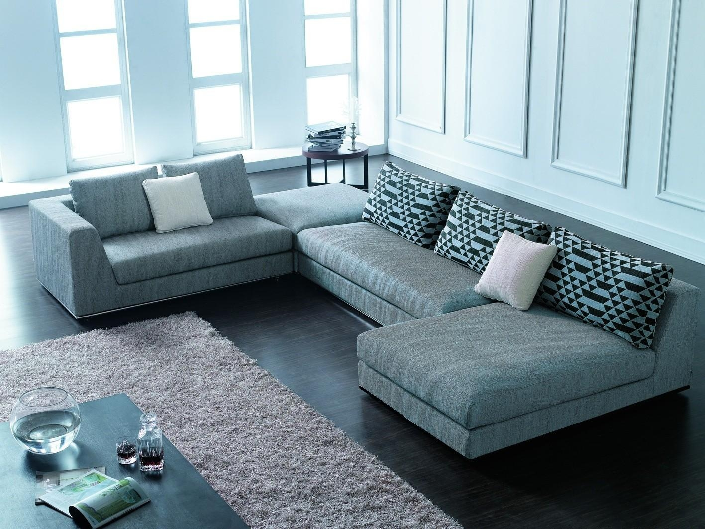 Modern Luxury Sectional Sofas 20 Inspirations Modern Sectional Sofas For Small Spaces