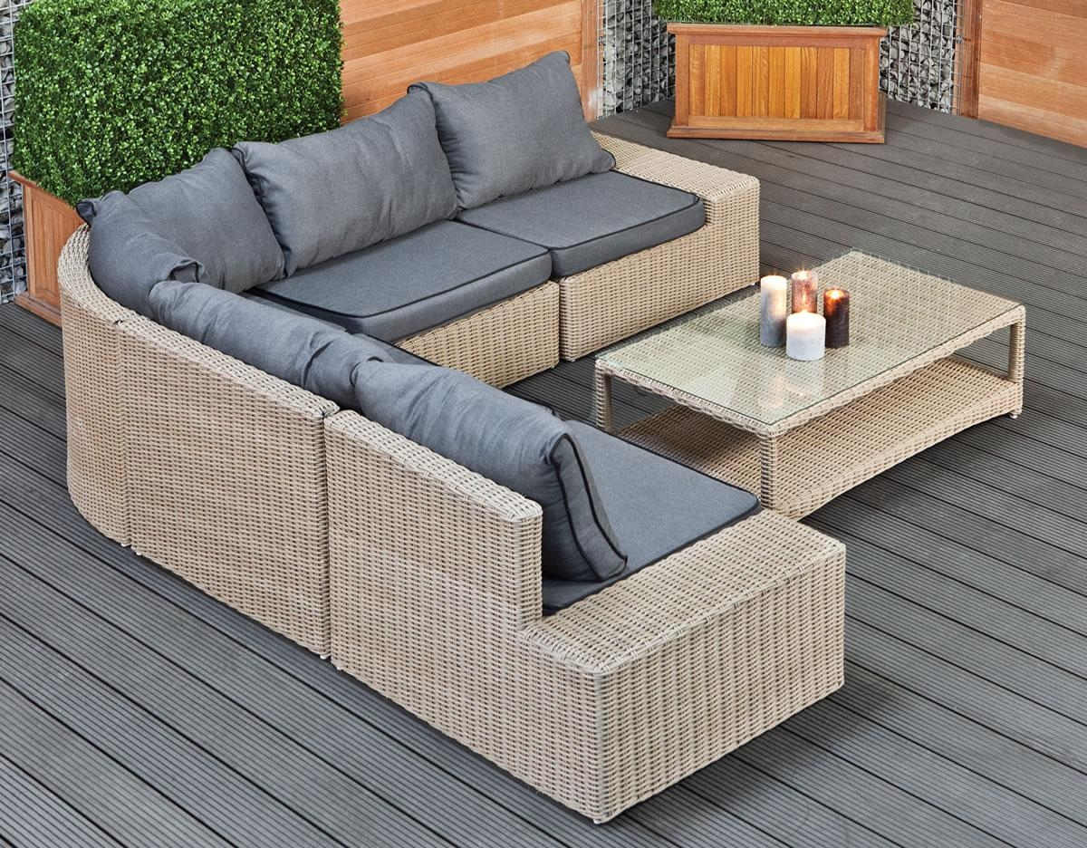 15 choices of cheap outdoor sectionals