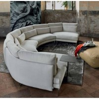 20 Best Collection of Semi Circular Sectional Sofas   Sofa ...