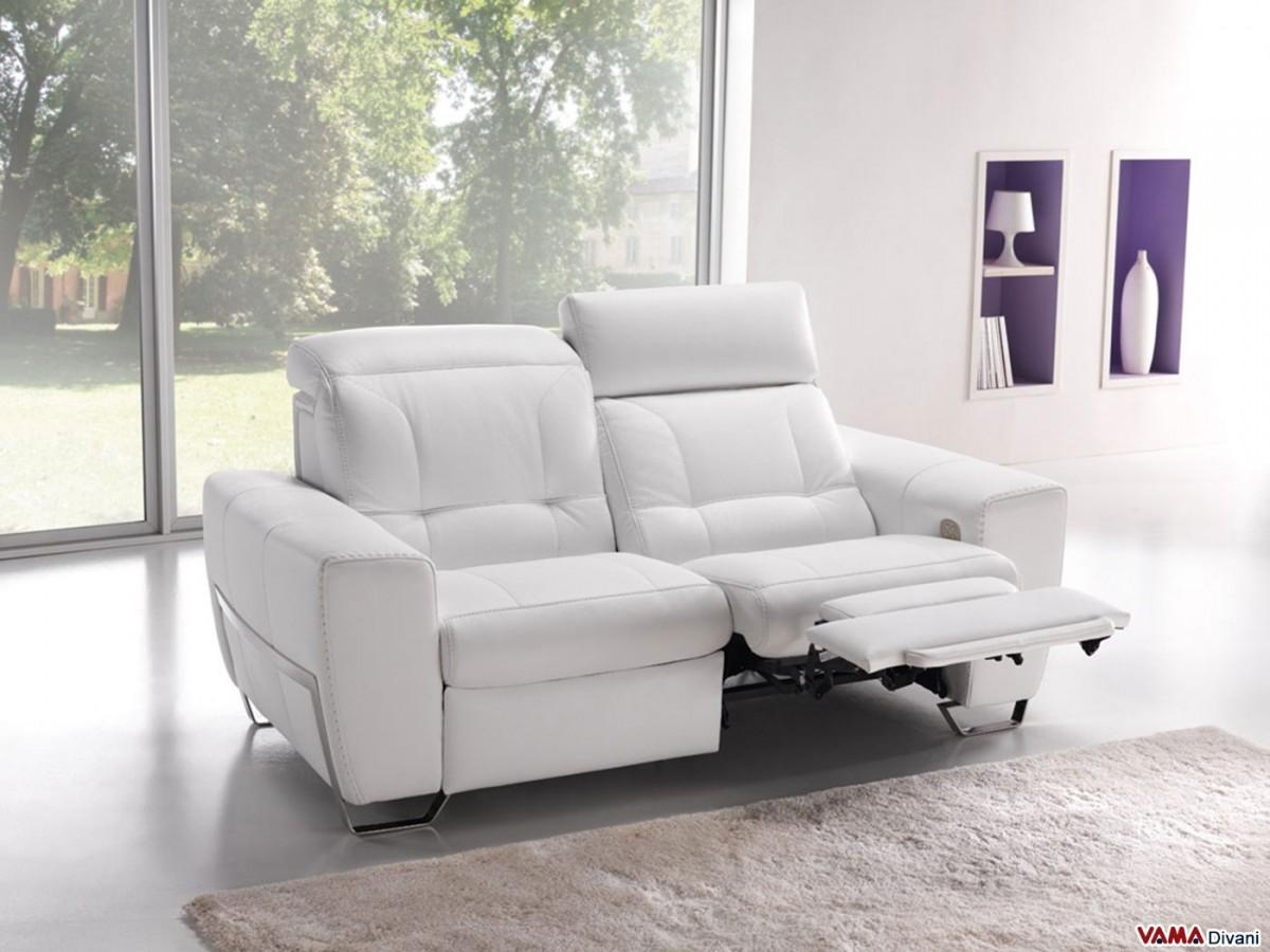 Divani Relax In Microfibra 20 Ideas Of 2 Seater Recliner Leather Sofas | Sofa Ideas