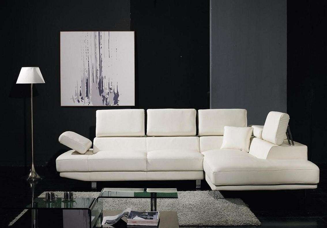 Sleek Leather Couch 20 Inspirations Sleek Sectional Sofa Sofa Ideas