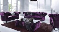 20 Inspirations Velvet Purple Sofas   Sofa Ideas