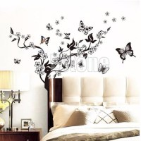 20 Best Collection of Butterflies Wall Art Stickers | Wall ...