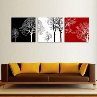20 Ideas of Black White and Red Wall Art | Wall Art Ideas