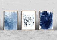 20 Collection of Navy Blue Wall Art | Wall Art Ideas