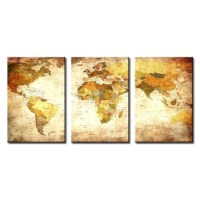 20 Collection of Three Panel Wall Art | Wall Art Ideas