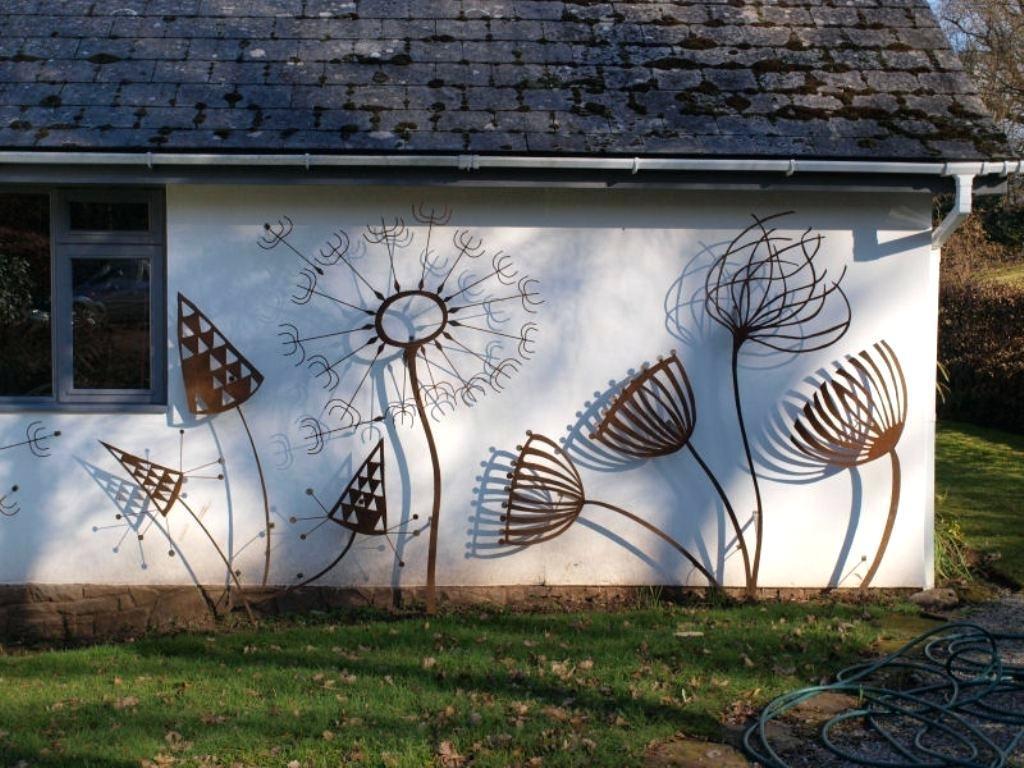 Outdoor Wall Sculpture