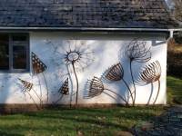 Outdoor Wall Sculpture
