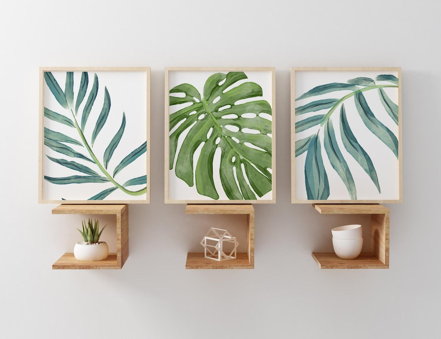 Art Decor 20 Best Palm Leaf Wall Decor Wall Art Ideas