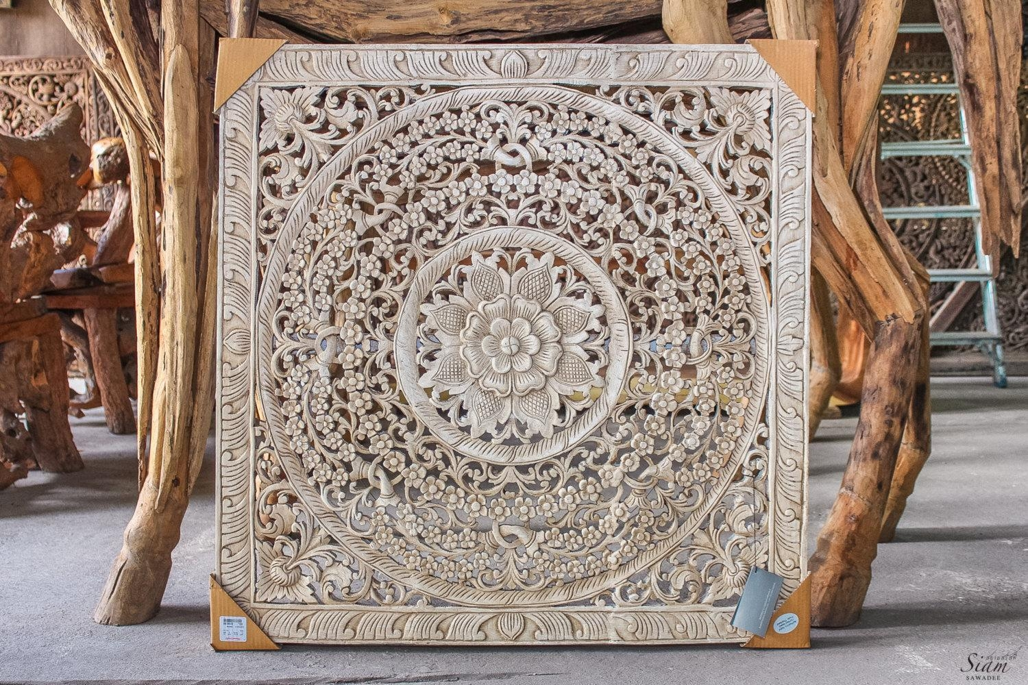 Carved Wood Wall Hanging 20 Best Ideas Balinese Wall Art Wall Art Ideas